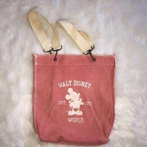 Walt Disney World Canvas Tote Bag, Pink